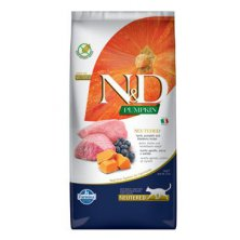 N&D Pumpkin CAT Neutered Lamb & Blueberry 5kg