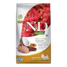 N&D Quinoa DOG Skin & Coat Quail & Coconut Mini 2,5kg