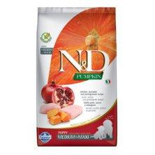 N&D Pumpkin DOG Puppy M/L Chicken & Pomegranate 2,5kg