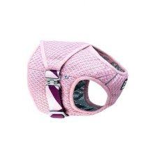 Vesta chladící Hurtta Cooling Wrap 45-55 růžová