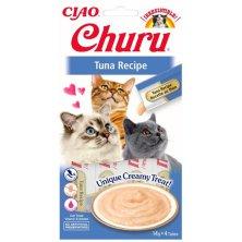 Inaba Churu cat snack Tuňák 4x 14g