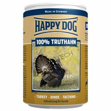 KONZERVA HAPPY DOG TRUTHAHN PUR 800g