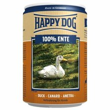 KONZERVA HAPPY DOG ENTE PUR 400g