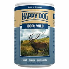 KONZERVA HAPPY DOG WILD PUR 400g