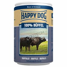 KONZERVA HAPPY DOG BUFFEL PUR 400g